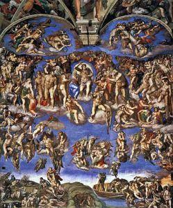 350px-Michelangelo,_Giudizio_Universale_02
